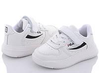 Детские кроссовки FILA реплика Белые 21-26