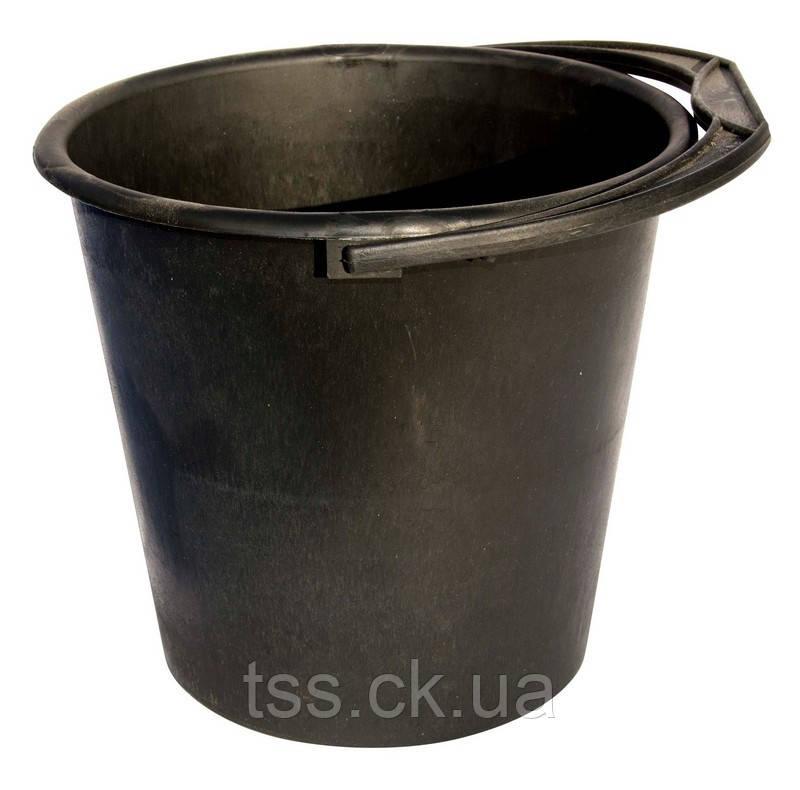 Відро пластикове чорне 5л ГОСПОДАР 92-0236