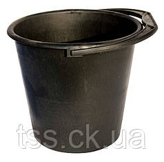 Ведро пластиковое ГОСПОДАР 5 л черное 92-0236