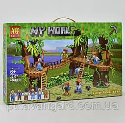 Конструктор Майнкрафт Джунгли Minecraft My World Lele 33127 686 деталей