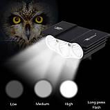 """Велосипедный фонарь Фара SolarStorm x3 """"СОВА"""" (XML T6*3, 6500k, IPX7, Аккумулятор 6400mAh) ПОЛНЫЙ КОМПЛЕКТ!, фото 2"""