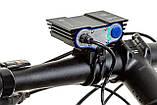 """Велосипедный фонарь Фара SolarStorm x3 """"СОВА"""" (XML T6*3, 6500k, IPX7, Аккумулятор 6400mAh) ПОЛНЫЙ КОМПЛЕКТ!, фото 5"""