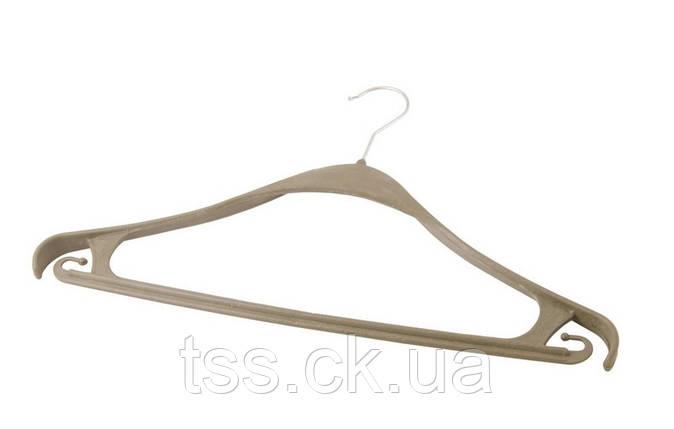 Вішалка для одягу посилена 41 см з металевим гачком ГОСПОДАР 92-0970, фото 2
