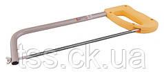 Ножівка по металу 300 мм пласт. рукоятка 2-х стороннє полотно 12,5 мм мет/мет (14-2903) (соб. пр) MASTERTOOL