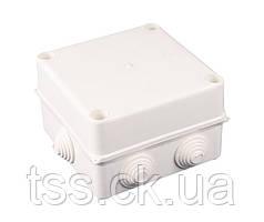 Коробка распределительная герметичная  РК-5 135*135*80 6-гермовводов ГОСПОДАР 94-0221