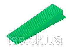 Клин MASTERTOOL MAXI система выравнивания плитки 50 шт 81-0501