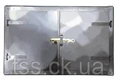 Дверка печная 776*490 мм черн. мет. ГОСПОДАР 92-0361