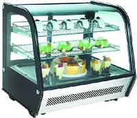 Настольная витрина RTW-120L EWT INOX (холодильная кондитерская)