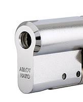 Цилиндр замка ABLOY PROTEC2 CLIQ 48,5 мм 38Hix10,5 ключ/половинка хром полированный (Финляндия), фото 1