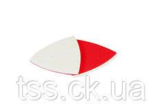Насадка кругла повстяна тканинна на липучці для реноватора 85 мм, 10 шт MASTERTOOL 08-6808