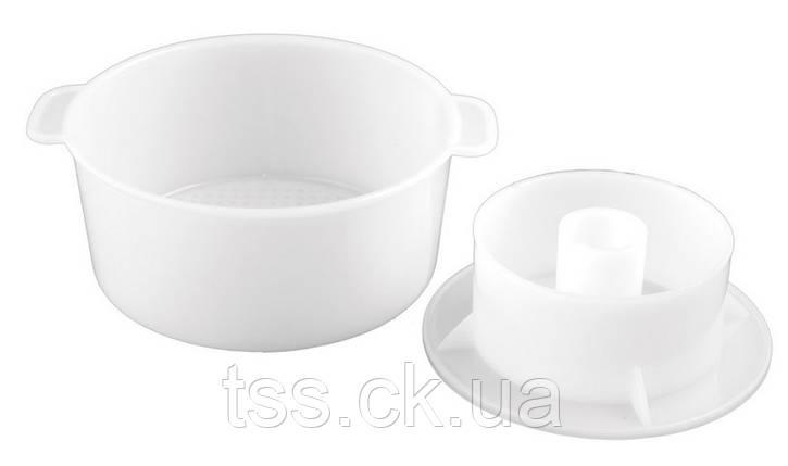 Форма для виготовлення сиру на 1 кг ГОСПОДАР 92-1210, фото 2