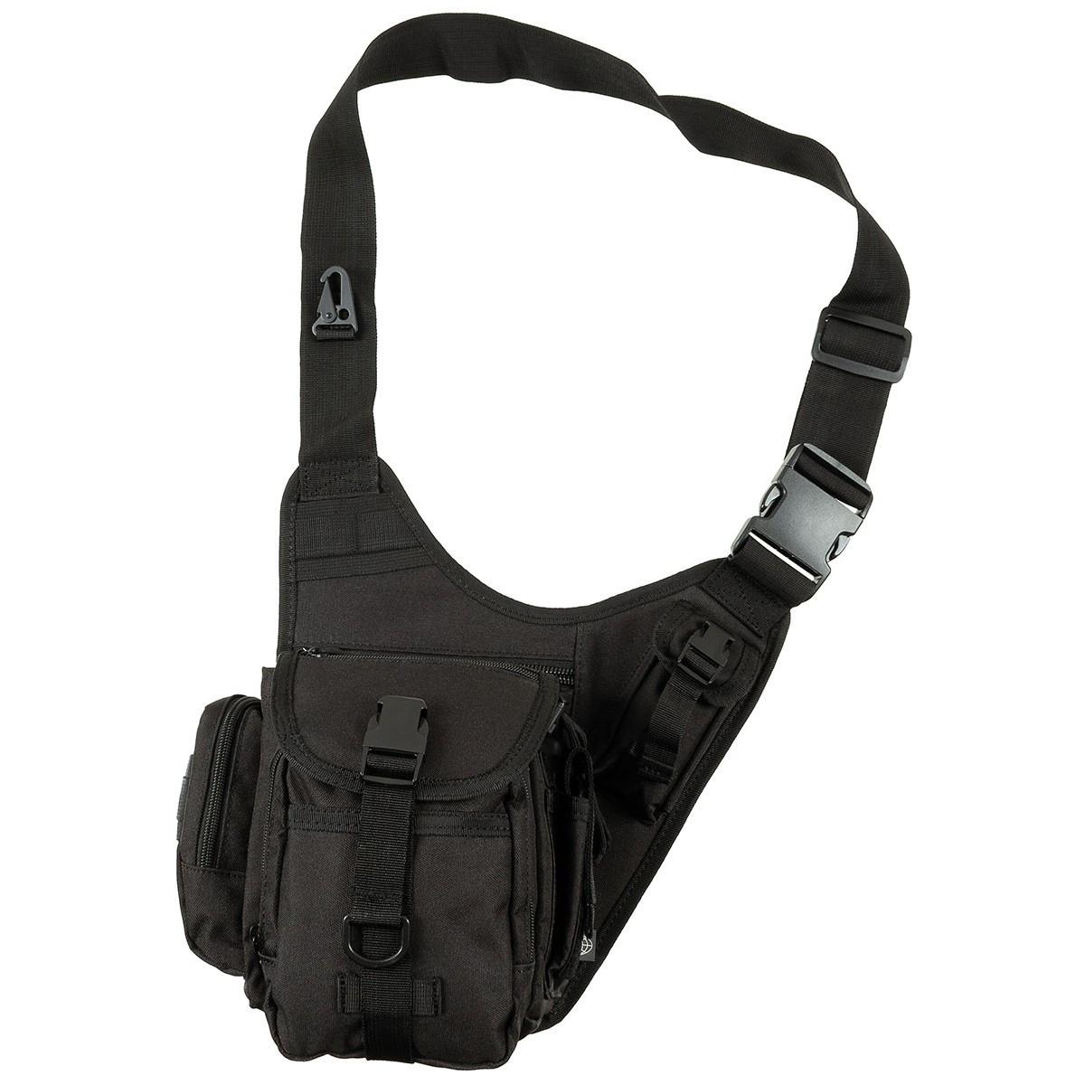 Наплечная сумка, чёрная MFH