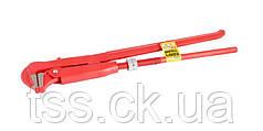 "Ключ трубный 90° 1,5"", кованый MASTERTOOL 76-0752"