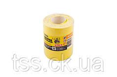 Шкурка шліфувальна на паперовій основі Р220 115 мм*10 м MASTERTOOL 08-2922