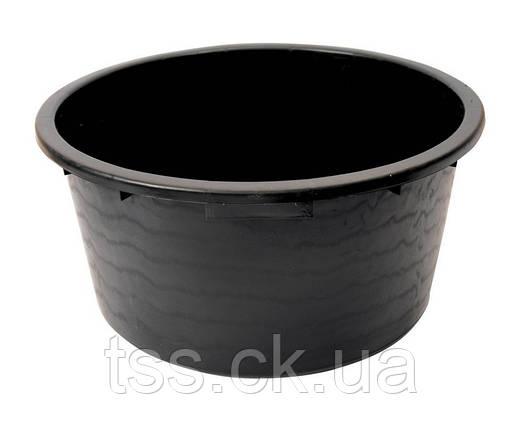Пластиковий Таз будівельний 40 л круглий ГОСПОДАР 92-3145, фото 2