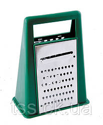 Терка для продуктів в пластиковому корпусі, 2 робочі поверхні ГОСПОДАР 92-0060