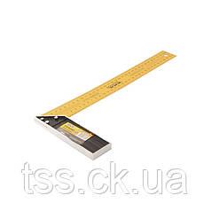 Угольник строительный MASTERTOOL 350 мм 30-0350