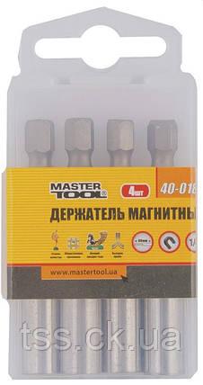 Тримач магнітний 75 мм MASTERTOOL 40-0181, фото 2