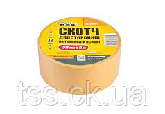 Скотч двусторонний на тканевой основе MASTERTOOL 38 мм 5 м 77-6805