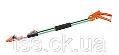 Секатор штанговый ПРОФИ, пистолетный телескопический 0,8 - 1,2 м, алюминиевая ручка MASTERTOOL 14-6908