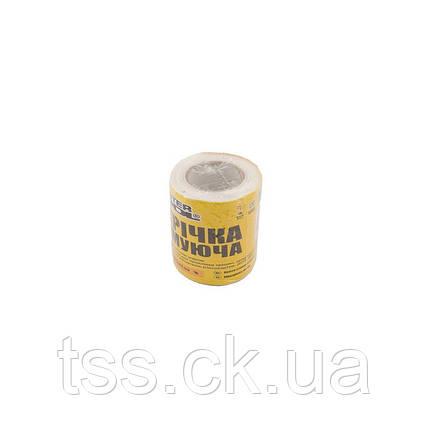 Стрічка склотканева з липким шаром 100 мм*20 м 8*8 60г/м. кв MASTERTOOL 08-9406, фото 2