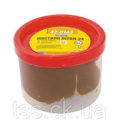 Смазка литол-24 100 г, полиэтилен MASTERTOOL 42-0143, фото 2