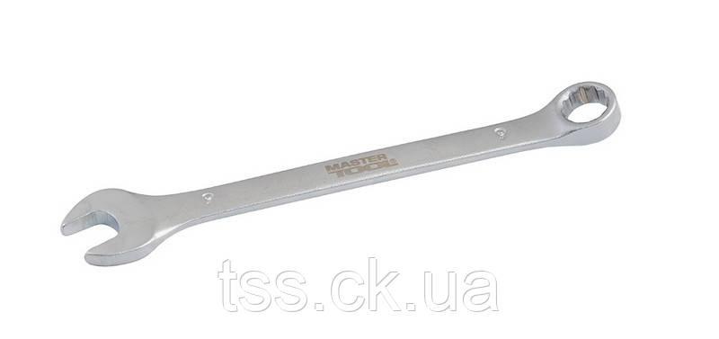 Ключ рожково-накидний 9 мм SS MASTERTOOL 71-1009
