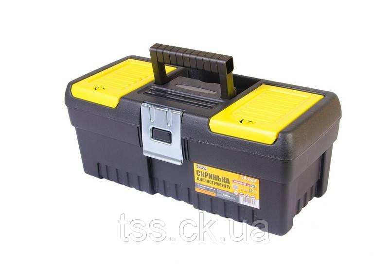 "Ящик для инструмента MASTERTOOL 14"" (355х165х145 мм) металлические замки 79-2514"