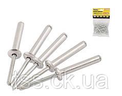 Слепые заклепки алюминиевые 4,8* 6,40 мм, 50 шт MASTERTOOL 20-0620