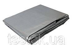 Тент   4 х 8 м, серебро, 110г/м2 ГОСПОДАР 79-7408
