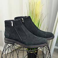 Классические мужские ботинки, натуральная кожа нубук