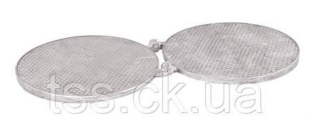Форма для вафель кругла металева ГОСПОДАР 92-0843, фото 2