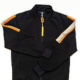 Костюм спортивный для мальчика р.128,140 SmileTime Rider, синий с оранжевым, фото 6