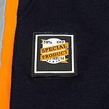 Костюм спортивный для мальчика р.128,140 SmileTime Rider, синий с оранжевым, фото 10