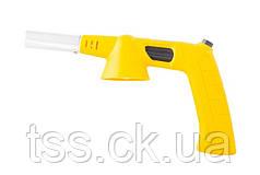 """Пальник для газового балона з ручкою, п'єзопідпал """"Везувій"""", керамічна захист, 1300 °С MASTERTOOL 44-5037"""