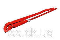 "Ключ трубный 45° 2,0"", кованый MASTERTOOL 76-0763"