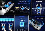 Велосипедная фара + Спидометр, Пульт, Клаксон и LSD Дисплей (800лм, IPX7, USB, Встроенная батарея 1500mAh), фото 2