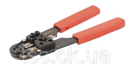 Клещи для обжима штекеров RJ45 195 мм MASTERTOOL 75-2242, фото 2