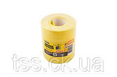 Шкурка шлифовальная на бумажной основе MASTERTOOL Р80 115 мм 10 м 08-2908
