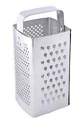 Терка для продуктів квадратна 4 робочі поверхні ГОСПОДАР 92-0076