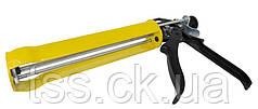 Пистолет для герметиков 355 мм рамный, усиленный MASTERTOOL 80-5030
