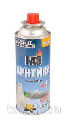 """Газ бутан """"АРКТИКА"""" 220 г MASTERTOOL 14-5052, фото 2"""