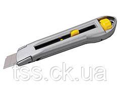 Нож 18 мм металлический двойной фиксатор MASTERTOOL 17-0078