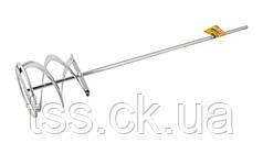 Миксер для красок и смесей ленточный D 120 мм L 600 мм MASTERTOOL 80-0022