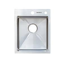 Кухонная мойка Germece Handmade 4050 (HD-D001) нерж.сталь 3/1,2 мм