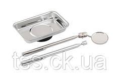 Набор магнитных инструментов MASTERTOOL (тарелка/захват/зеркало) 81-2137