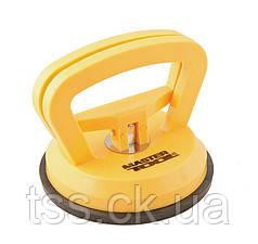 Вакуумний утримувач для скла одинарний 40 кг MASTERTOOL 14-0901