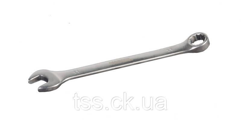 Ключ рожково-накидной 11 мм SS MASTERTOOL 71-1011