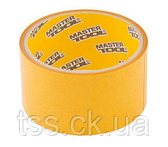 Скотч двусторонний полипропиленовый MASTERTOOL 50 мм 5 м 77-3505