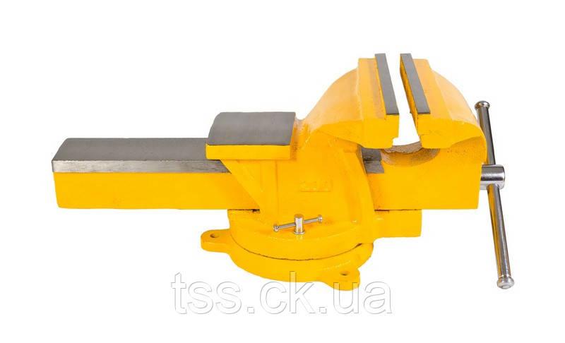 Лещата слюсарні поворотні 200 мм MASTERTOOL 07-0220